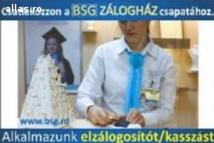 Zálogos/ Kasszás